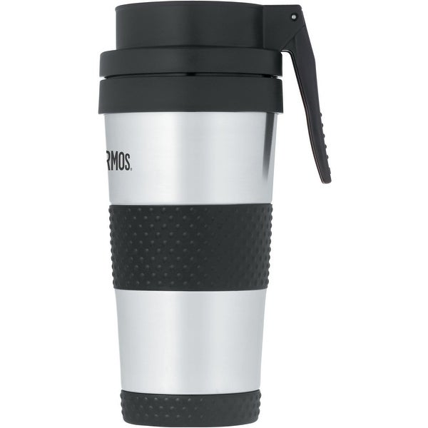 Thermos JMH402SS4 Travel Tumbler, 14 Oz, Stainless Steel