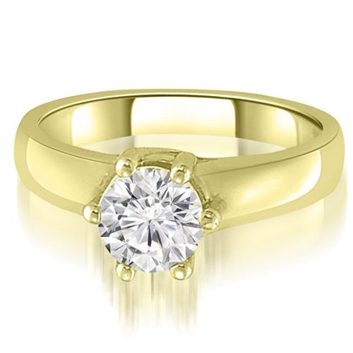 1.00 cttw. 14K Yellow Gold 6-Prong Lucida Solitaire Diamond Engagement Ring
