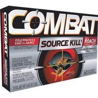 Combat 12Pk Sm Combat Roch Bait