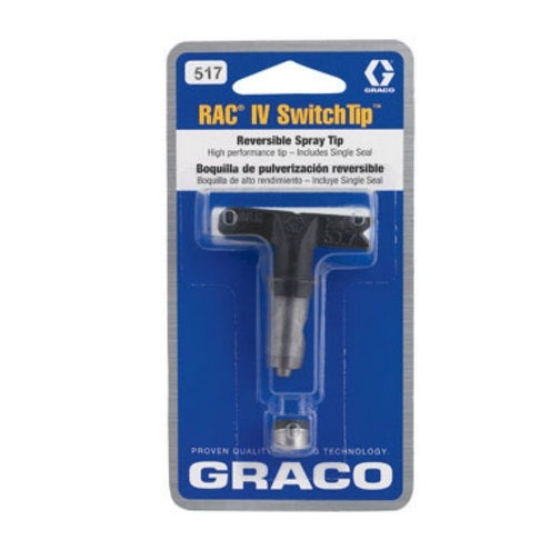 "Graco 221517 517 Rac Iv Airless Fan Spray Switch Tip, 10"" - 12"""