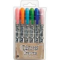 Set #6 - Tim Holtz Distress Crayon Set
