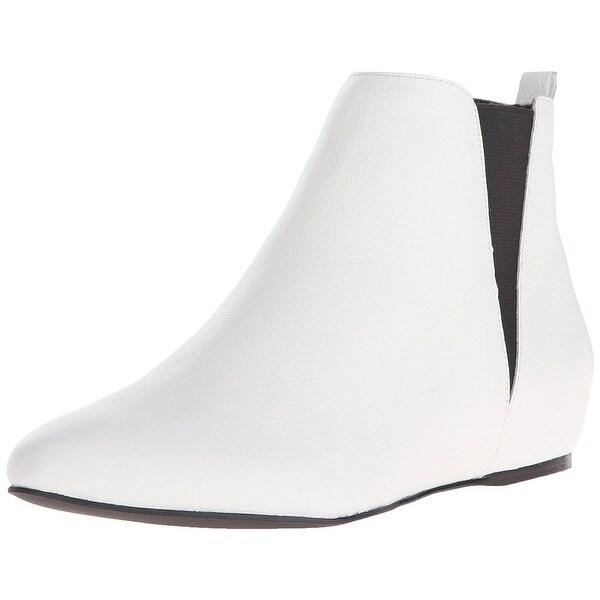 Calvin Klein Womens Magica Kid Closed Toe Ankle Fashion Boots