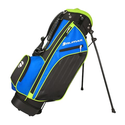 Orlimar ATS Junior Boys' Blue/Lime Series Stand Bag (Ages 5-8)