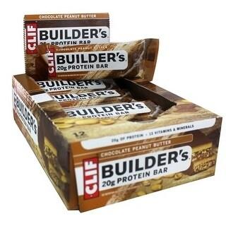 Clif Builder Bar Peanut Butter (Box of 12)