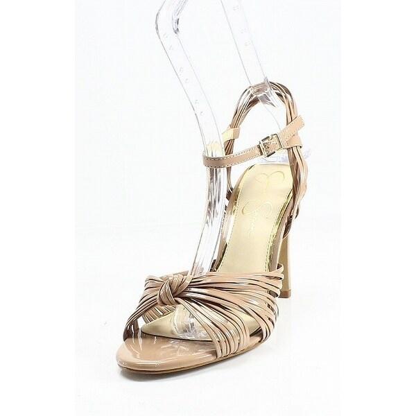Jessica Simpson NEW Beige Patent Leather Evy Women's Size 9.5M Pumps