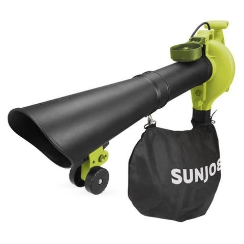 Sun Joe SBJ606E-GA-SJG 14 amp 4-in-1 Electric Blower with 250 MPH Vacuum Mulcher & Gutter Cleaner
