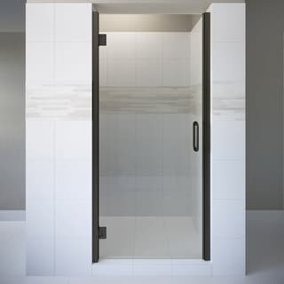 "Basco COPA00A3176CL  Coppia 76"" High x 31-9/16"" Wide Hinged Frameless Shower Door with Clear Glass"