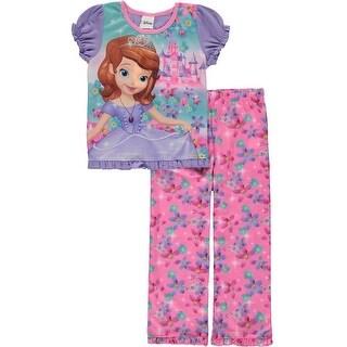 Disney Girls 2T-4T Sofia the First Sleep Set - Purple