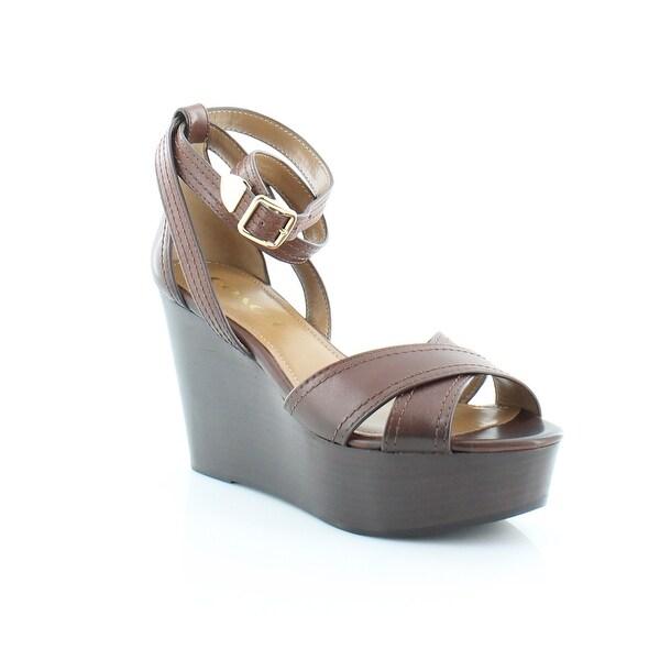 Coach Harrison Women's Sandals & Flip Flops DK Brown - 6.5
