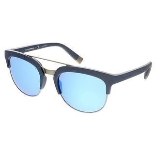 Dolce&Gabbana DG6103 303125 Matte Blue Wayfarer Sunglasses