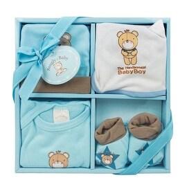 4-Piece Baby Gift Set, Blue