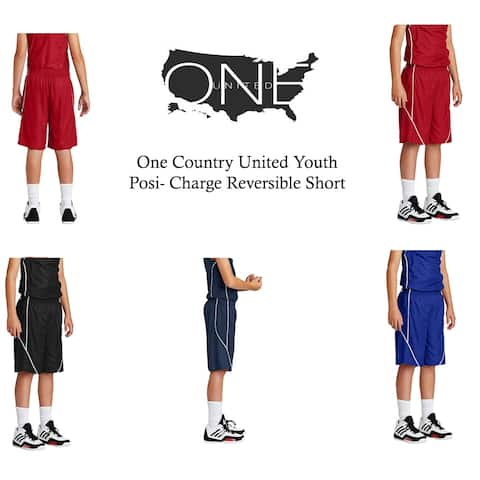 One Country United Youth Posi-Charge Reversible Short