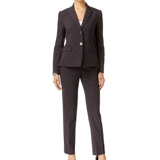 Tahari by ASL NEW Black Women's Size 4 Pinstriped Pant Suit Set