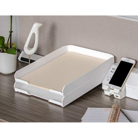"Bostitch Konnect Letter Tray, 9.75"" x 12"" Fits Legal Sized Documents, Stackable"