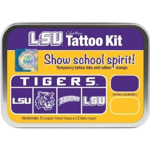 Clearsnap CS19610 Louisiana State University Collegiate Tattoo Kit