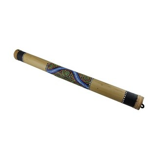 24.5 in. Hand Painted Bamboo Rain Stick