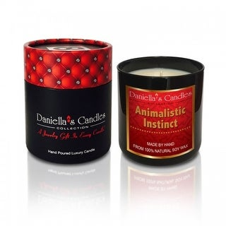 Animalistic Instinct Men's Luxury Jewelry Candle - Necklace