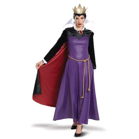 Womens Snow White Evil Queen Deluxe Costume