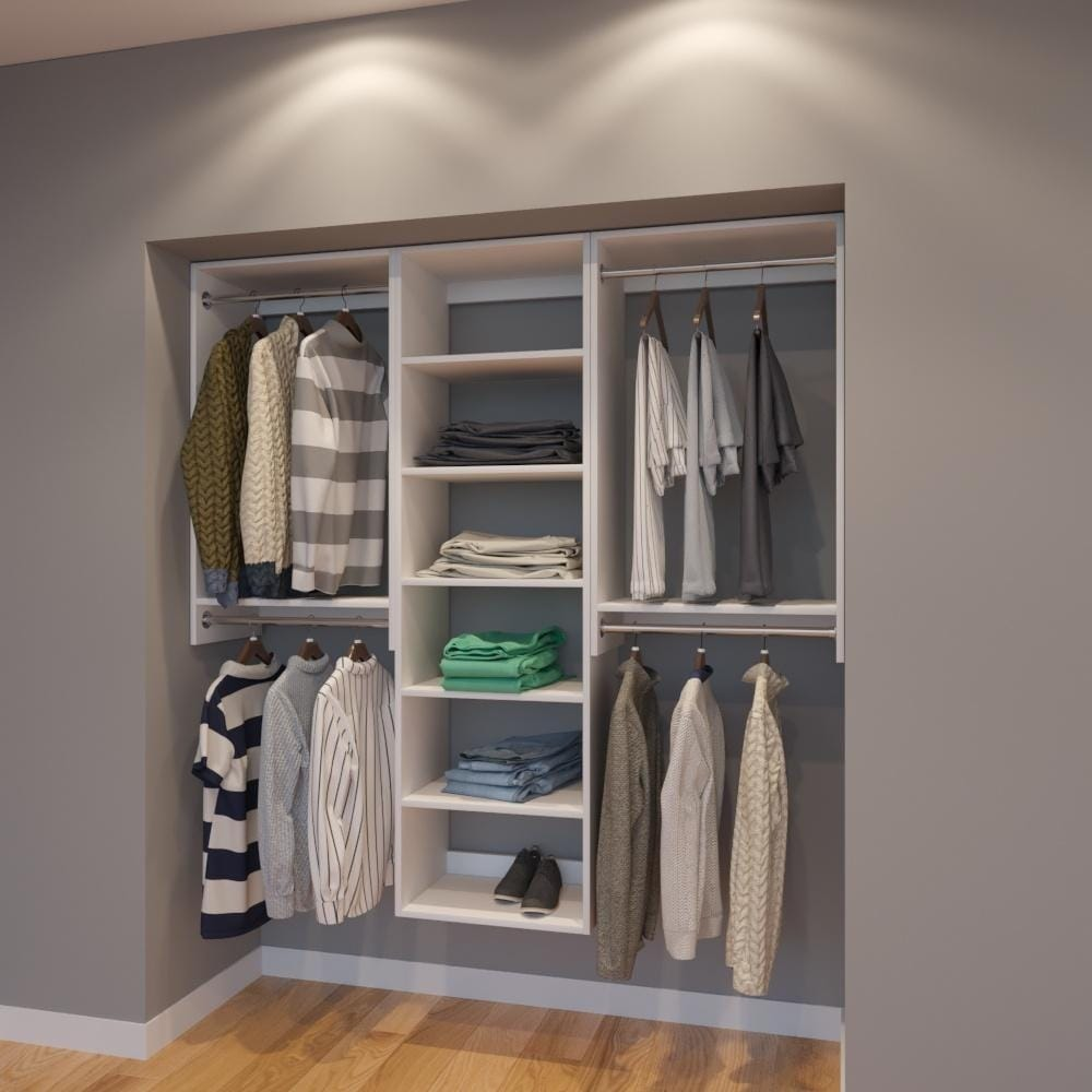 White Closet Organizers Systems Online At Our Best Storage Organization Deals