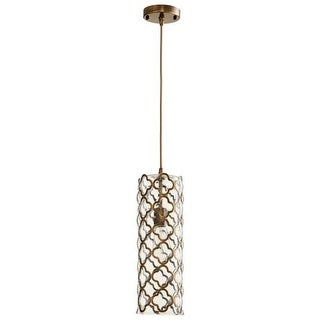 Cyan Design Large Corsica One Light Pendant Corsica 1 Light Pendant with Clear Shade