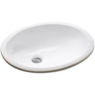 "Kohler K-2209 Caxton 15"" Undermount Bathroom Sink with Overflow"