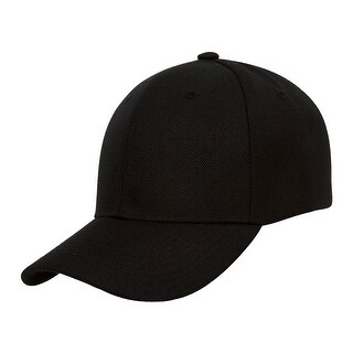 TopHeadwear Plain Adjustable Curved Bill Caps (4 options available)