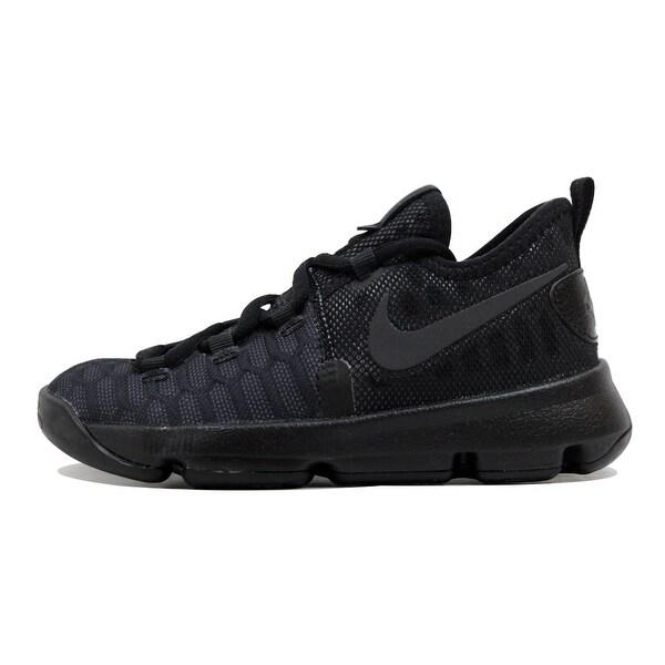 huge selection of cc80c 63e80 ... basketball shoe 84732 29243 amazon nike pre school kd ix 9 black black  anthracite kevin durant triple black f961a 28c0a