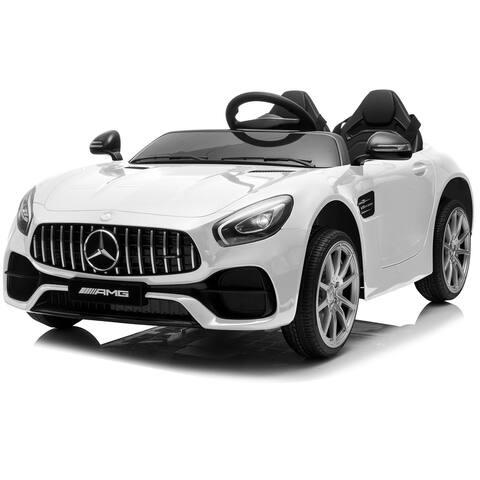 Kidzone 2 Seats Licensed Mercedes-Benz AMG GT Kid Electric Ride On Car - standard
