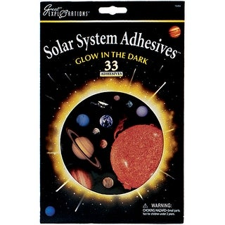 Glowing Adhesives-Solar System