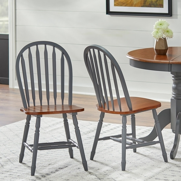 Simple Living Carolina Windsor Dining Chairs (Set of 2). Opens flyout.