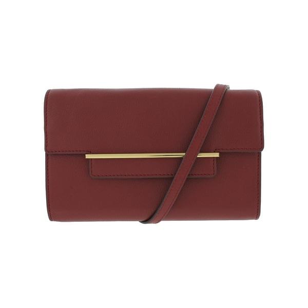 7fd1a49b5c3c Shop Vince Camuto Womens Aster Crossbody Handbag Leather Pebbled ...