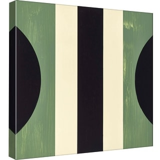 "PTM Images 9-97902  PTM Canvas Collection 12"" x 12"" - ""Verde Moderne 3"" Giclee Abstract Art Print on Canvas"