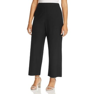 Eileen Fisher Womens Plus Ankle Pants Solid Flat Front - 3x