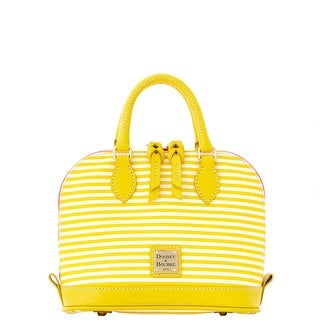 Dooney & Bourke DB Stripe Bitsy Bag (Introduced by Dooney & Bourke at $178 in Jan 2016) - Sunflower