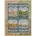 Bucilla 45572 Counted Cross Stitch Picture Kits, Four Seasons - Thumbnail 0