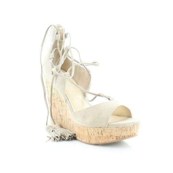 Ivanka Trump Hellan 3 Women's Sandals & Flip Flops Light Natural