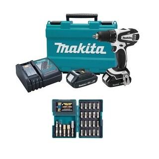 "Makita 18V Compact Li-Ion 1/2"" Driver-Drill Kit Set"