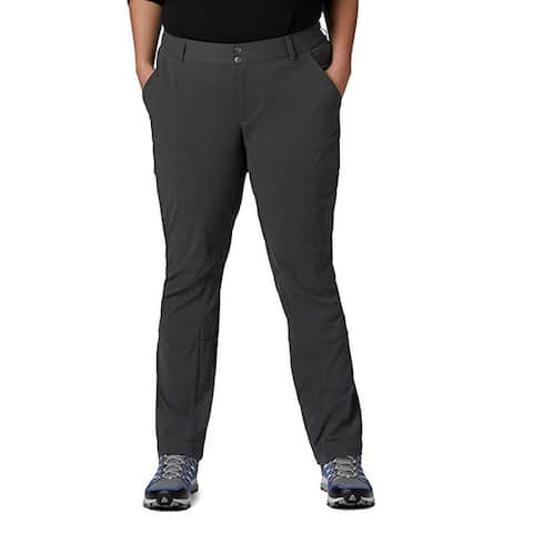 Columbia Women's Saturday Trail Pant, Grill, 6 (Regular)