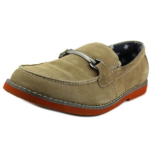 Florsheim Rodeo Bit Jr. Moc Toe Suede Loafer
