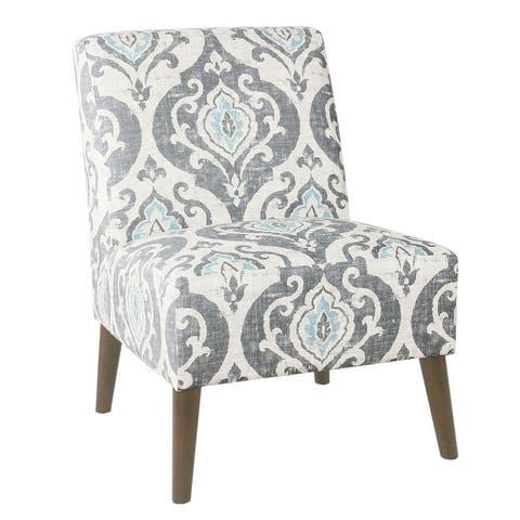HomePop Modern Armless Dining Accent Chair