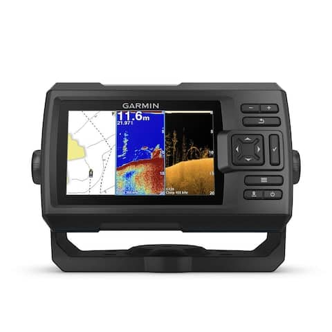 Garmin STRIKER Plus 5CV 5 Inch WVGA Color CHIRP Fishfinder
