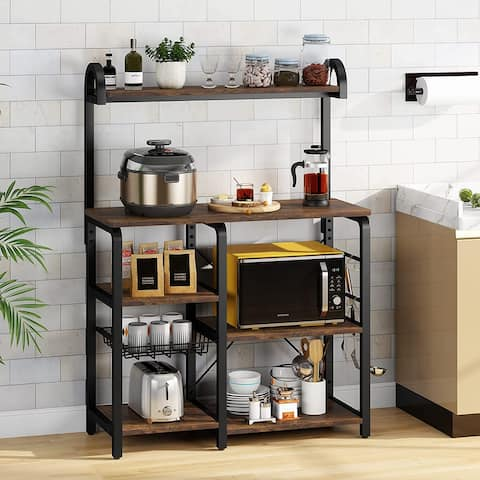 Kitchen Baker's Rack, Microwave Oven Stand Rack