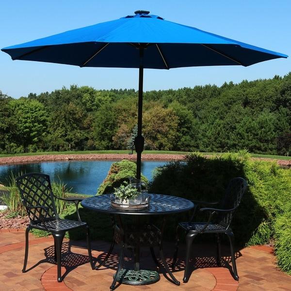 Shop Sunnydaze 9 Foot Aluminum Sunbrella Patio Umbrella