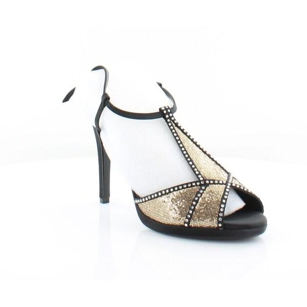 Caparros Ecstasy Women's Heels Black Gold