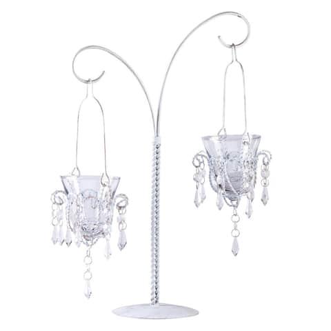 Mini-chandelier Votive Stand