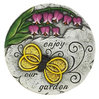 Enjoy Our Garden Butterfly Stone