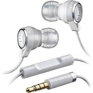 Plantronics Backbeat 216 Stereo Headphones with Mic (White) - BBT216-WHT