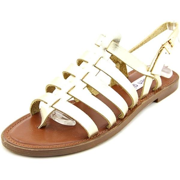 Madden Girl Strapper Open-Toe Synthetic Slingback Sandal