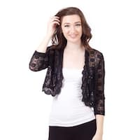 3/4 Sleeve Lace Jacket