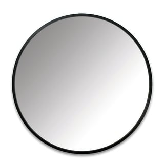 "Umbra Hub Rubber Frame 18"" Round Mirror 1013756-040"